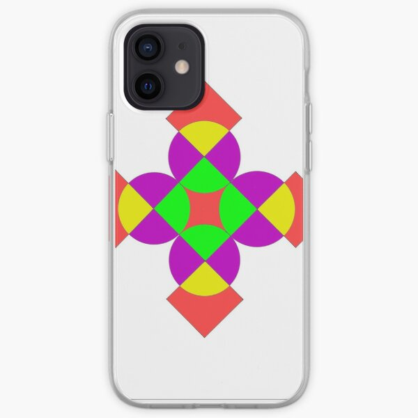 SQUARES AND CIRCLES iPhone Soft Case