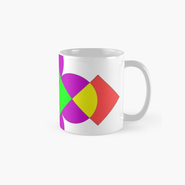 SQUARES AND CIRCLES Classic Mug