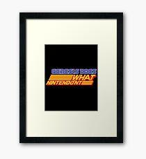 Genesis Does Framed Print