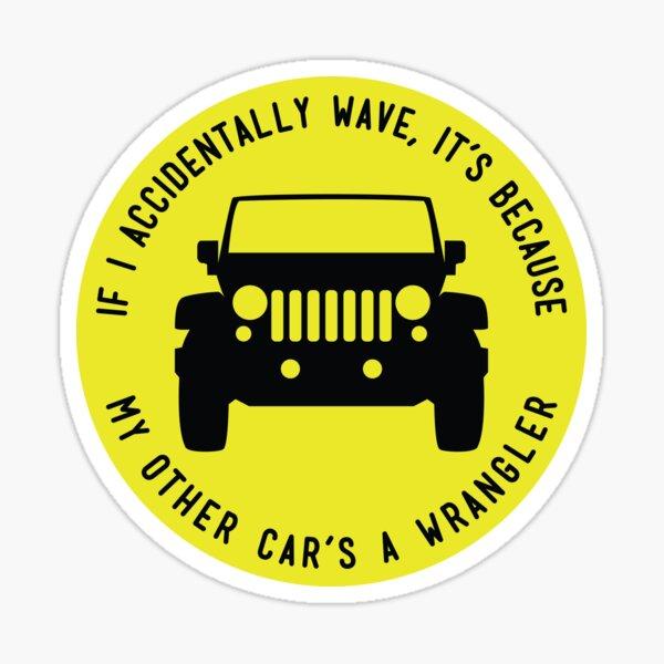 My Other Car is a Jeep Wrangler sticker Sticker