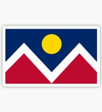 Flag of Denver Sticker