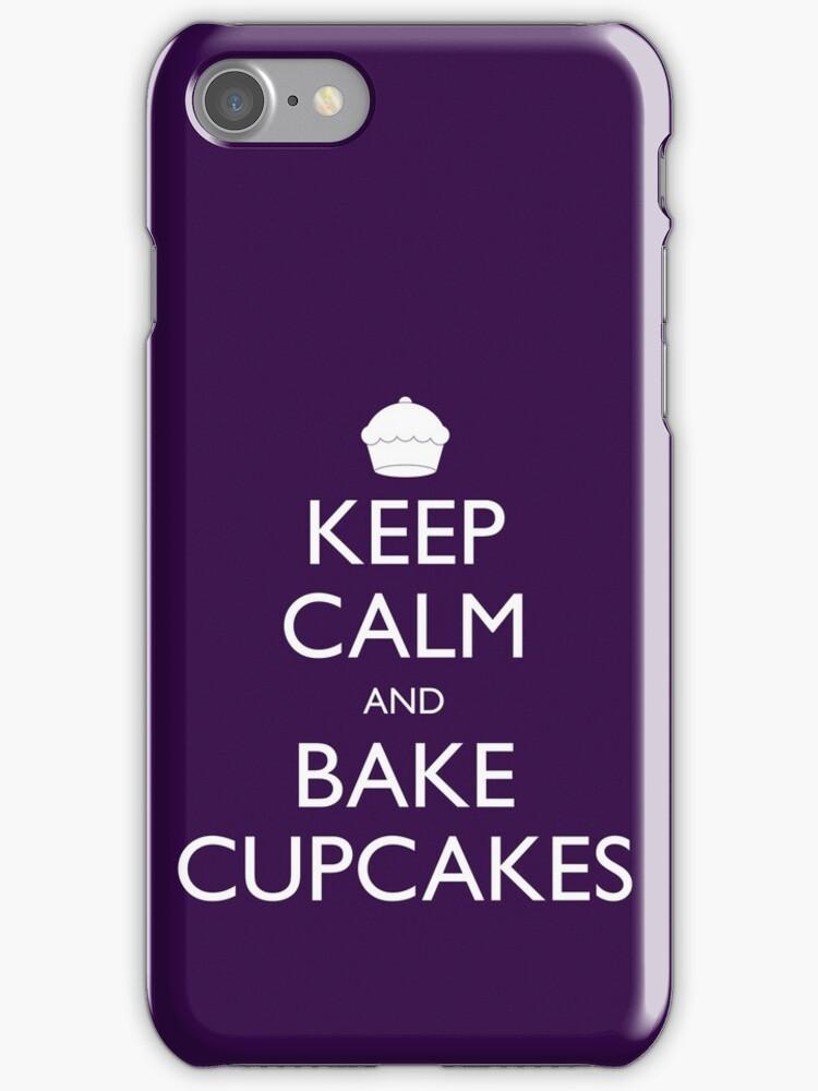 Keep Calm and Bake Cupcakes by geekchic  tees