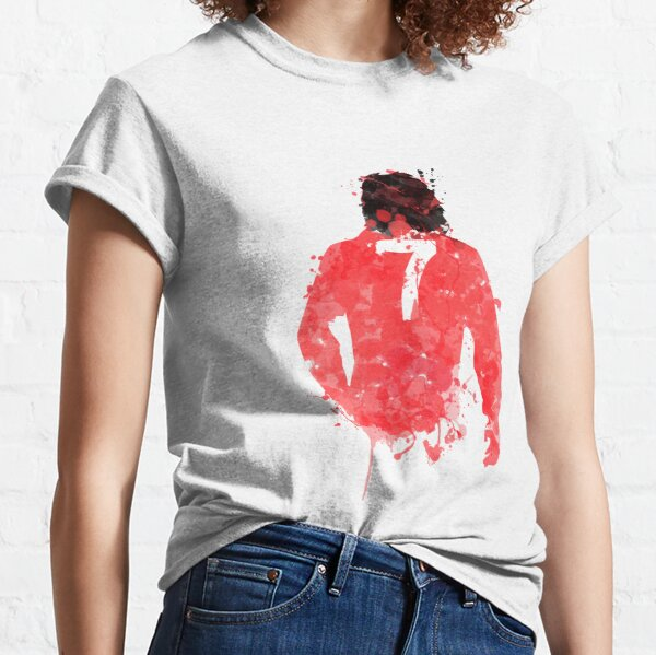 George Best - Manchester United Art T-shirt classique