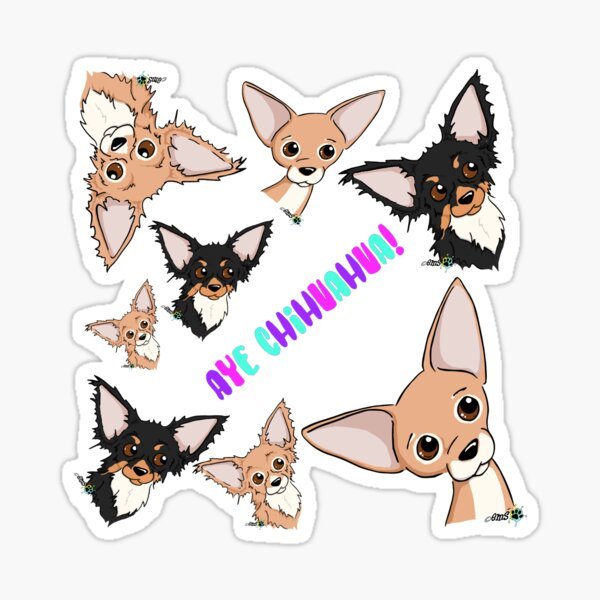 Aye aye aye, Chihuahua Sticker