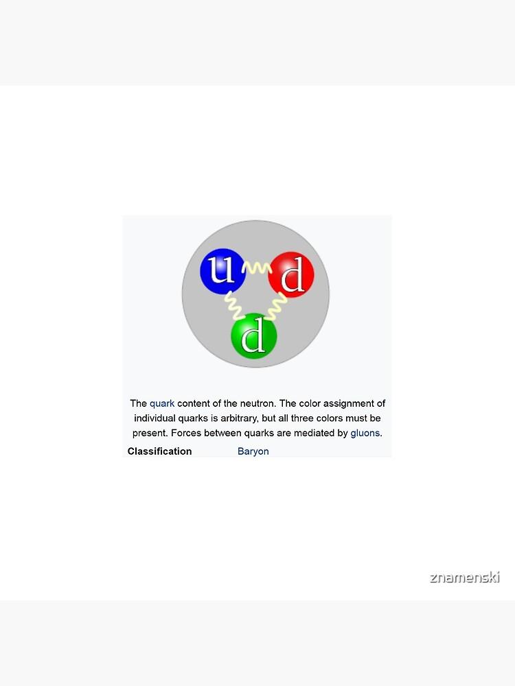 Neutron, Physics, Quarks, Gluons, Baryon, Subatomic Particle  by znamenski