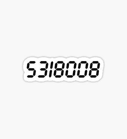 5318008 - Black  Sticker