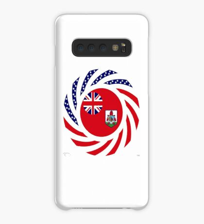 Bermudan American Multinational Patriot Flag Series Case/Skin for Samsung Galaxy