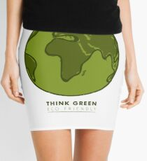 Save The Earth Mini Skirt