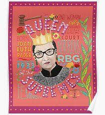 Notorious RBG - Königin der Supremes Poster