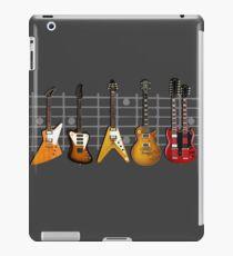 Vinilo o funda para iPad La colección de guitarras de Nashville