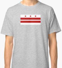 Flag of Washington DC  Classic T-Shirt