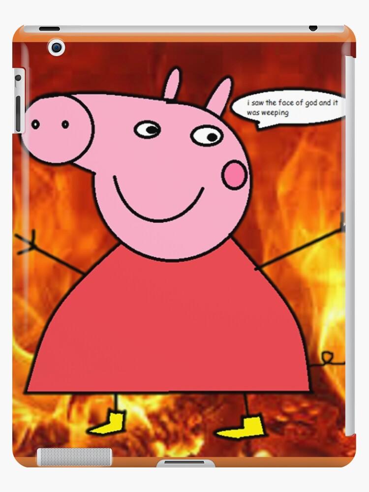 Peppa Pig Supreme Overlord Ipad Case Skin By Tealeon