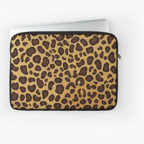 Leopard Cheetah animal spots Laptop Sleeve