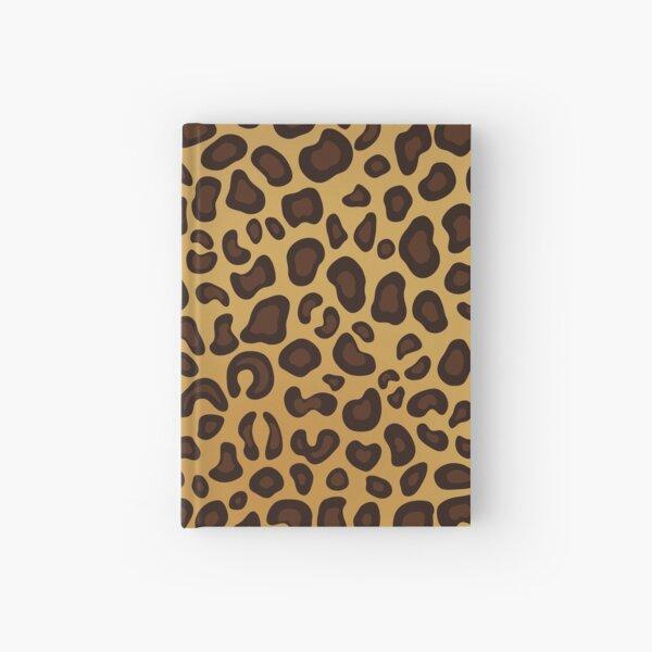 Leopard Cheetah animal spots Hardcover Journal