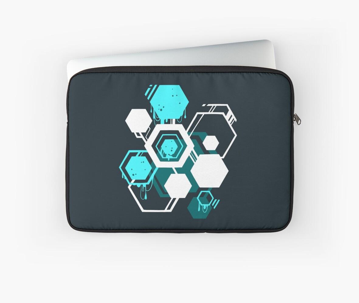 Hexagon Goo by CometShine