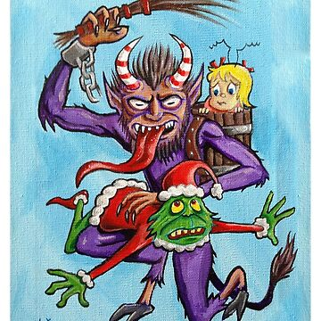Krampus Comes to Whoville by eliwolff