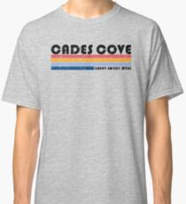 Cades Cove - Great Smoky Mountains - Retro T-Shirts Classic T-Shirt