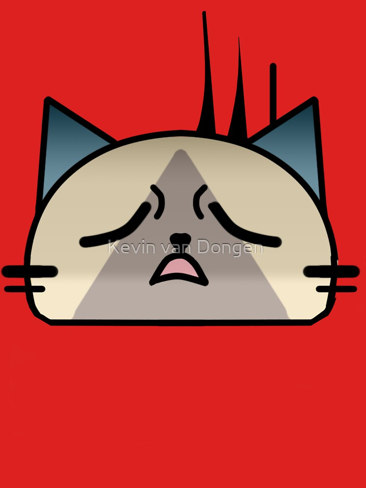 Annoyingly frustrated Cat Palico by GameGeekzDesign