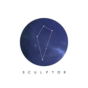 Sculptor Constellation by cl0thespin