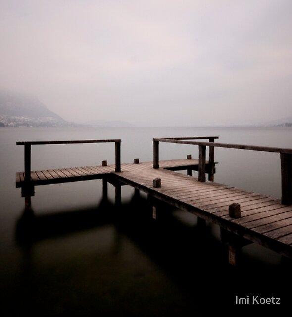 Lake Annecy.....France by Imi Koetz
