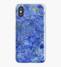 Blue Out iPhone Case
