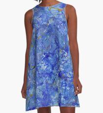 Blue Out A-Line Dress