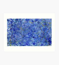 Blue Out Art Print