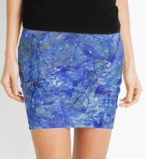 Blue Out Mini Skirt