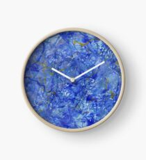 Blue Out Clock