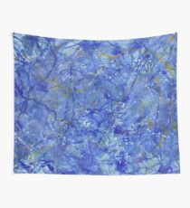 Blue Out Wall Tapestry