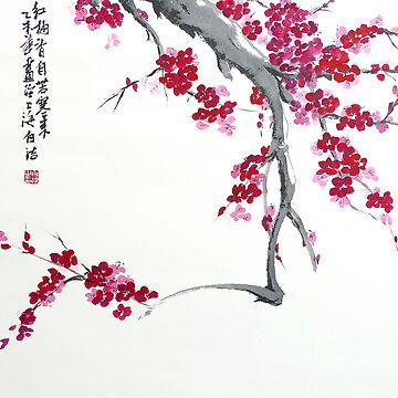 Plum Blossom - Spring Is Coming by BirgitMo