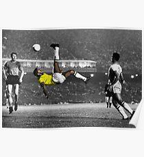 Brazil's Legend Pele Poster