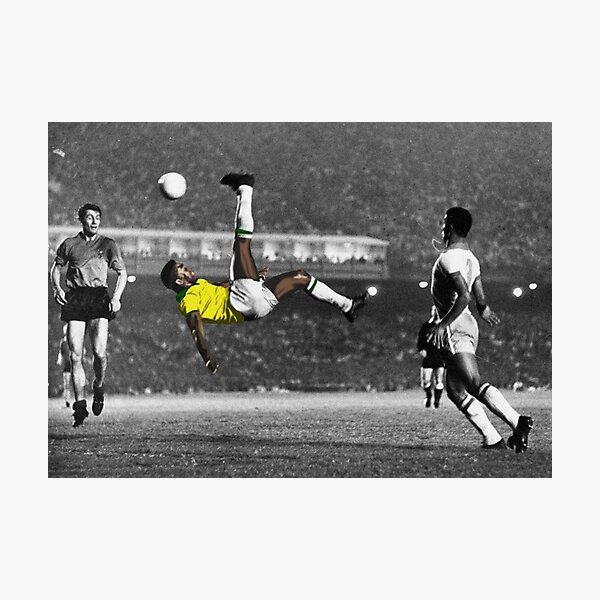 Brazil's Legend Pele Photographic Print