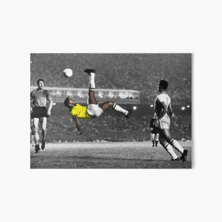 Brazil's Legend Pele Art Board Print