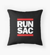 Run SAC  Throw Pillow
