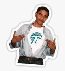 Obama Tulane Sticker
