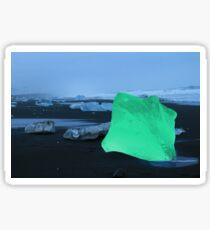 Green Iceberg Sticker