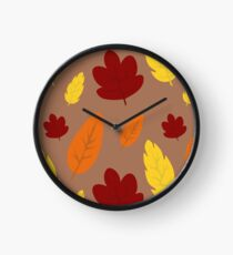 Larger Leaves Clock