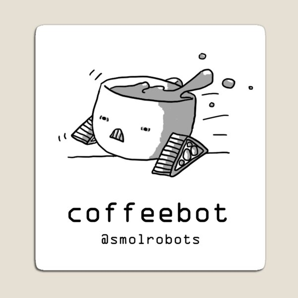 Coffeebot Magnet
