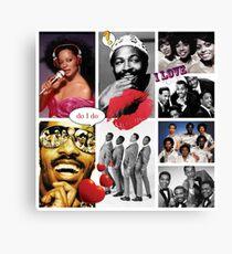 Motown Music Canvas Print