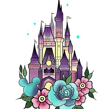 Princess castle by KrissyTattoos03