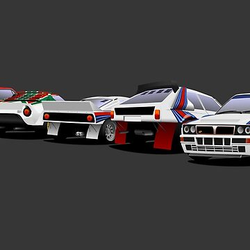 Lancia Rally Dynasty by 2fedex2