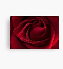 Dark Red Rose Canvas Print