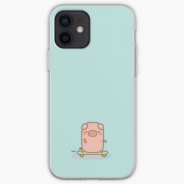 Skateboard Piggy iPhone Soft Case