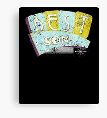 50s Vintage Best Son 50s Retro Canvas Print