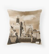 Looking for the goat and the fiddler Throw Pillow
