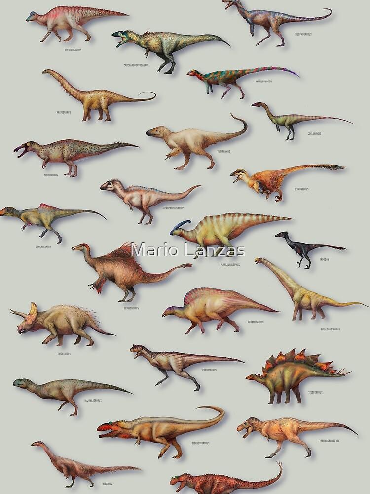 Dinosaurier-Schaukasten-PLAKAT 2016 von mariolanzas
