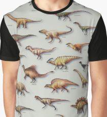 Dinosaurier-Schaukasten-PLAKAT 2016 Grafik T-Shirt