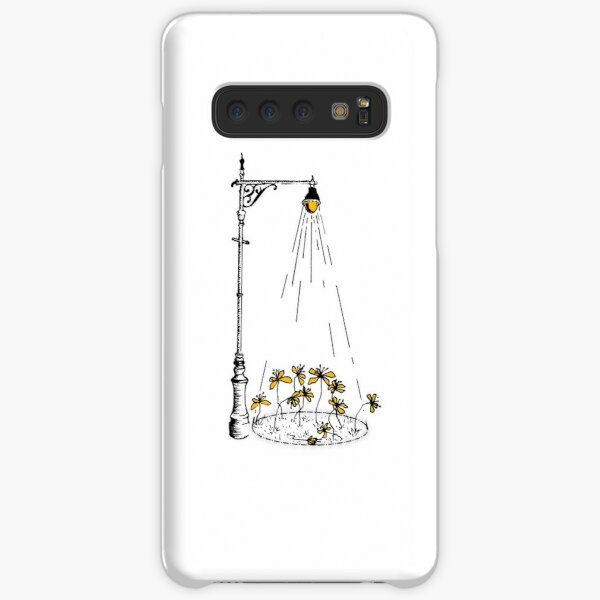 Street Lamp and Flowers Ink Drawing Samsung Galaxy Snap Case