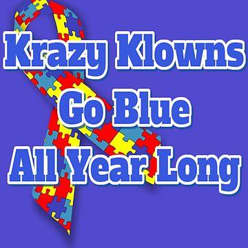 Krazy Klowns Go Blue by KrazyKlowns